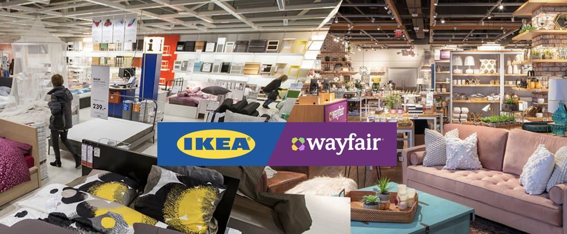 Ikea versus Wayfair - Home Decor Market Share
