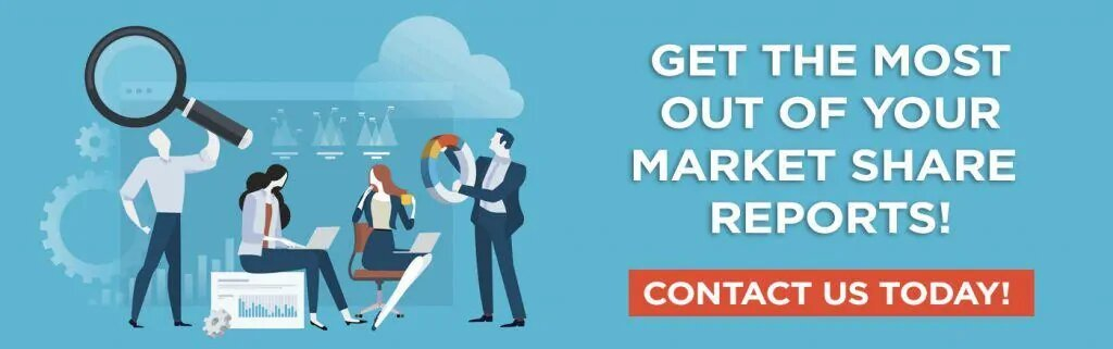 Get the Most out of your market share reports! Contact us today!